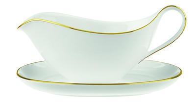 Omáčnik 0,45 l s tanierikom Anmut Gold - 1
