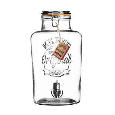 Sklenený nápojový automat s kohútikom 8 l Kilner - 1
