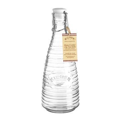 Fľaša na vodu s klipom 0,85 l Kilner