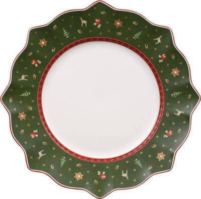 Zelený plytký tanier 29 cm Toy's Delight - 1