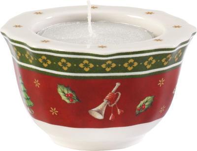 www.villy.sk - Červený svietnik 4 cm Toy s Delight - Villeroy   Boch 98640abefc1