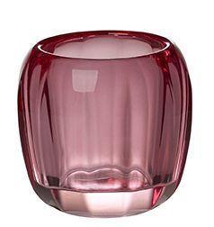 Svietnik na čajovú sviečku, ružový Colour. DeLight - 1