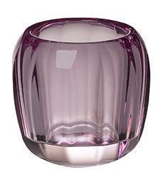 Svietnik na čajovú sviečku, fialový Col. DeLight - 1