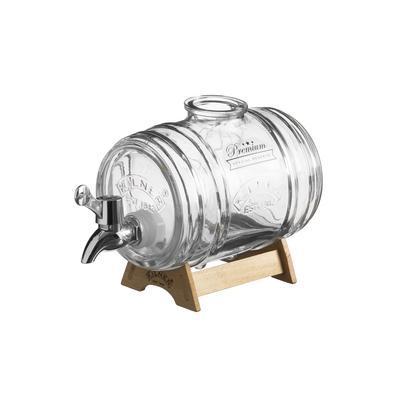 Automat na whisky v tvare suda 1 l Kilner - 1