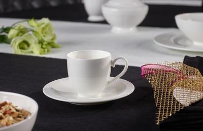 Espresso šálka 0,10 l s podšálkou White Pearl - 2