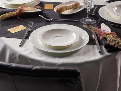 Tanierik pod polievkovú šálku 18 cm White Pearl - 2