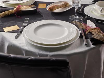 Plytký tanier 27 cm White Pearl - 2