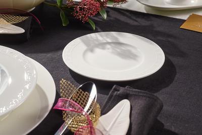 Tanier na chlieb/maslo 18 cm White Pearl - 2