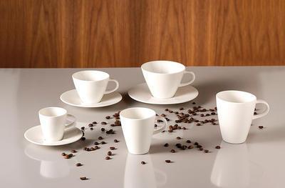 Šálka na bielu kávu 0,39 l Caffe Club - 2