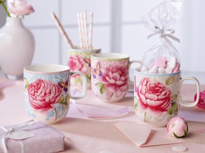 Hrnček, ružový 0,35 l Rose Cottage - 2