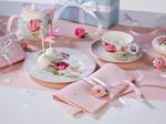 Dezertný tanier, sivý 22 cm Rose Cottage - 2/2