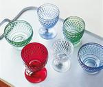 Červený pohár na vodu Boston coloured - 2/2