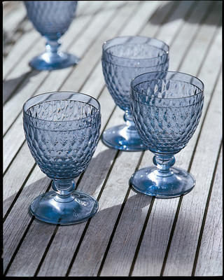 Modrý pohár na vodu Boston coloured - 2