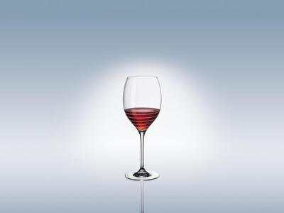 Špirálovitý pohár Bordeaux 0,65 l Maxima Decorated - 2
