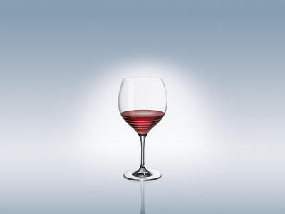 Špirálovitý pohár Burgundy 0,79 l Maxima Decorated - 2