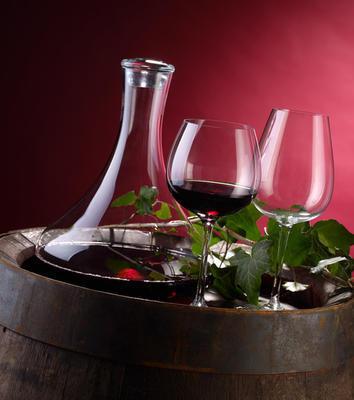 Pohár na červené víno 0,55 l Purismo Wine - 2