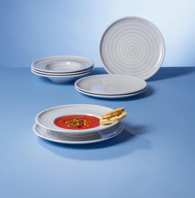 Hlboký tanier 25 cm Artesano Nature Bleu - 2