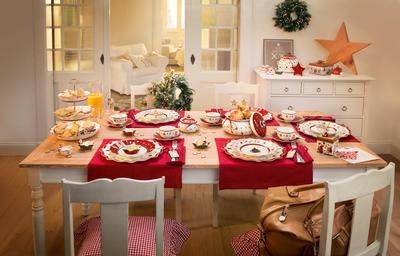 Vianočná obedová súprava, BIEL 18 ks Toy's Delight - 2