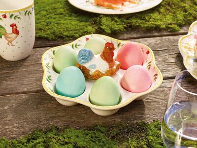 Podnos na vajíčka, sliepka 20 cm Spring Awakening - 2