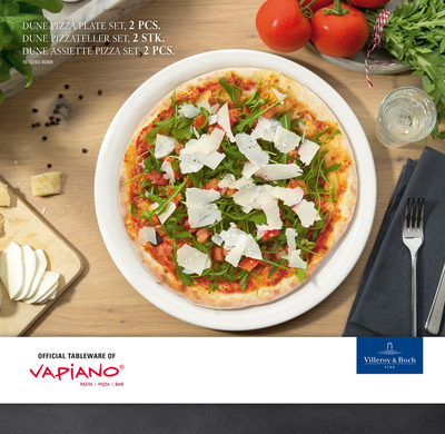 Súprava tanierov na pizzu, 2 ks Dune Vapiano - 2
