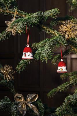 Závesný zvonček 7 cm Toy's Delight Decoration - 2