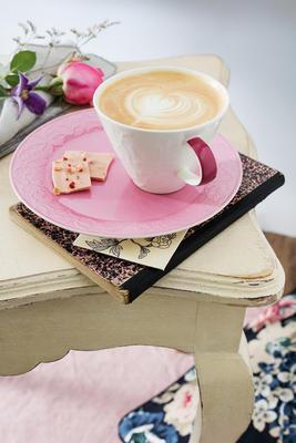 Šálka na bielu kávu 0,39 l Ca. Cl. Fl. T. of Rose - 2