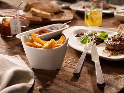 Miska na zemiaky/hranolky, 4 ks BBQ Passion - 2