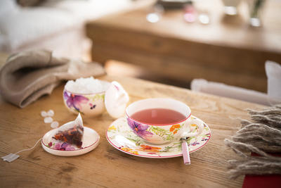 Čajová šálka 0,24 l s podšálkou Mariefleur Tea - 2