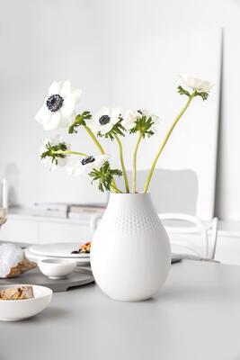 Vysoká váza, Perle, 20 cm Manufact. Collier blanc - 2