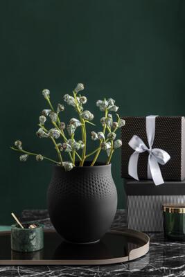 Veľká váza, Perle, 17,5 cm Manufact. Collier noir - 2