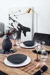 Vysoká váza, Perle, 20 cm Manufacture Collier noir - 2/2