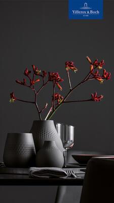 Malá váza, Carre, 14 cm Manufacture Collier noir - 2