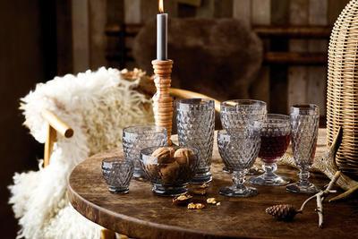 Dymový pohár na biele víno Boston coloured - 2