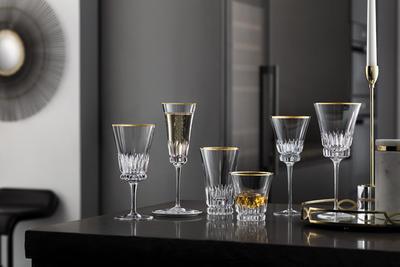 Pohár na šampanské 0,23 l Grand Royal Gold - 2