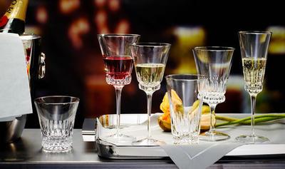 Pohár na šampanské 0,23 l Grand Royal White Gold - 2