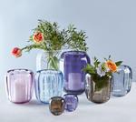 Váza/lampa na čajovú sviečku, fialová Col. DeLight - 2/2