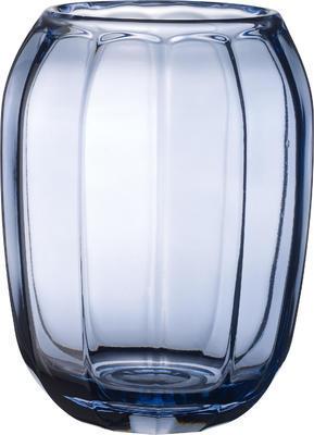 Váza/lampa na čajovú sviečku, modrá Col. DeLight - 2