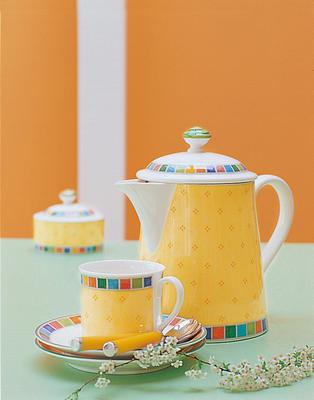 Kávová šálka 0,20 l s podšálkou Twist Alea Limone - 2