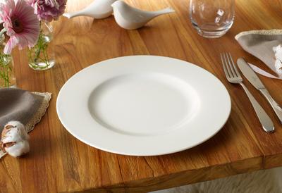 Plytký tanier 27 cm Twist White - 2