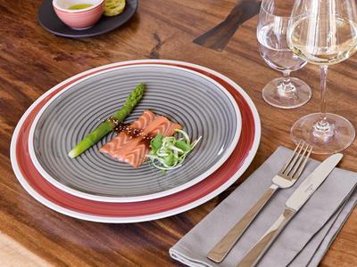 Plytký tanier 27 cm Manufacture gris - 2