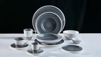Hlboký tanier 25 cm Manufacture gris - 2