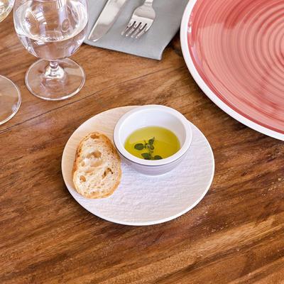 Tanier na chlieb/maslo 16 cm Manufact. Rock blanc - 2
