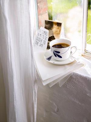 Kávová šálka 0,20 l s podšálkou Old Lux. Brindille - 2