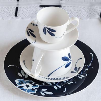 Dezertný tanier, modrý 22 cm Old Luxemb. Brindille - 2