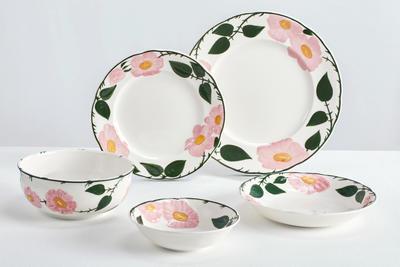 Plytký tanier 26 cm Rose Sauvage heritage - 2