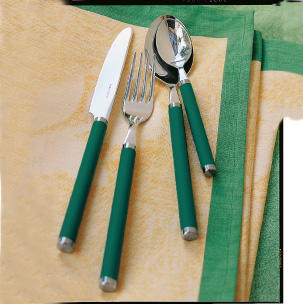 Dezertná vidlička 15,5 cm Play! green garden - 2