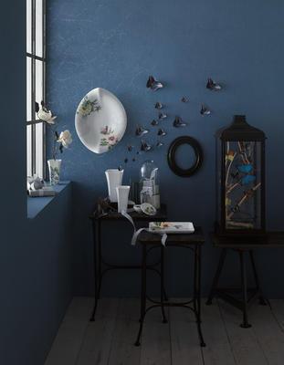 Dekoratívny tanier 28 x 21 cm Quinsai Garden Gifts - 2