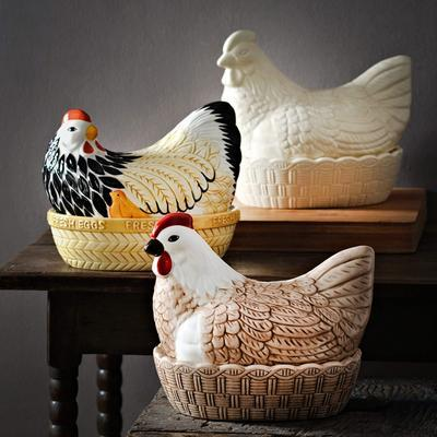 Nádoba na vajcia, sliepka 21 x 16,5 cm  Mason Cash - 2