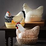 Nádoba na vajcia, sliepka 21 x 16,5 cm  Mason Cash - 2/2