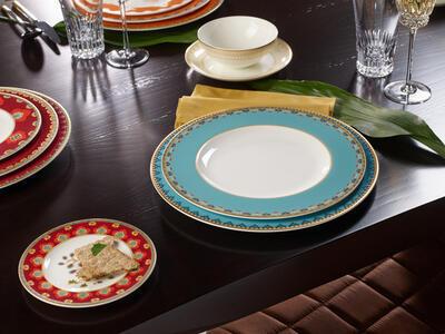 Plytký tanier 28 cm Samarkand Aquamarin - 2